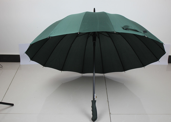 China Guarda-chuva aberto do automóvel compacto Windproof, guarda-chuva verde do golfe da planície da propaganda fábrica